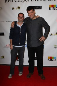Adam Ellison and Nimrod Antal (Credit: Red Carpet Events LA)