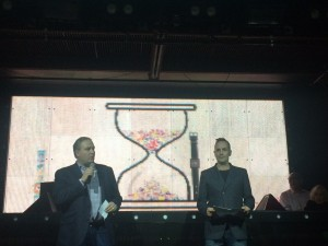 Swatch executives at the event