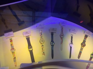 Swatch Club watches from previous years
