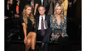 Paris Hilton, Jason Binn, and Nicky Hilton  Photo Credit: DuJour