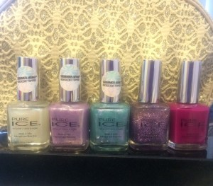 Pure Ice nail polishes