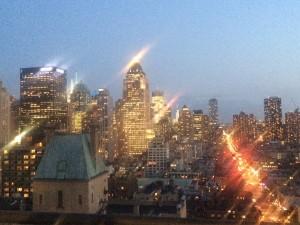 City views at Sky Terrace