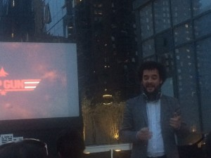 Rooftop Film Club founder Gerry Cottle Jr.
