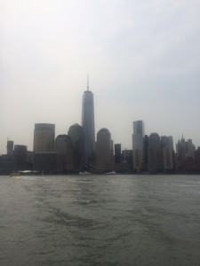 One World Trade Center and Downtown Manhattan