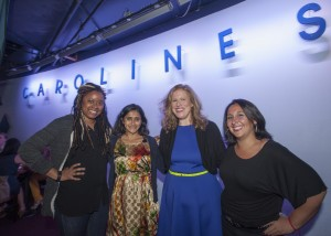 Phoebe Robinson. Aparna Nancherla. Rachel Dry. and Robyn Schall- photo credit: Maryanne Russell