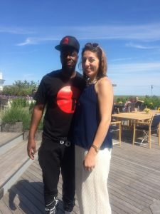 So cool spending the day with Wyclef Jean!!