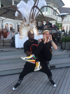 Wyclef Jean and Nick Petricca from Walk The Moon