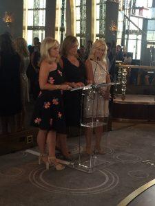 Melissa Rosenbloom, Claudia Warner, and Trisha Stern
